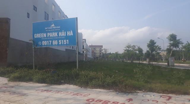 Dự án Khu dân cư Hải Hà (Thanh Hóa) giao đất không qua đấu thầu.