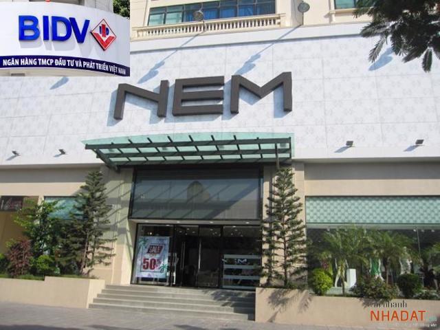 BIDV đã có thông báo rao bán khoản nợ liên quan đến Công ty Cổ phần Thời trang NEM.