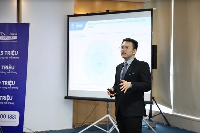 Ông Nguyễn Quốc Anh – Phó Tổng giám đốc Batdongsan.com.vn.