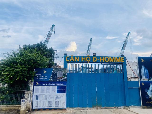 Dự án D-Homme đang được thi công trở lại