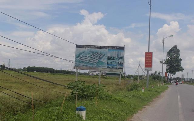 Huyện Mê Linh có tới 60 dự án chậm triển khai.