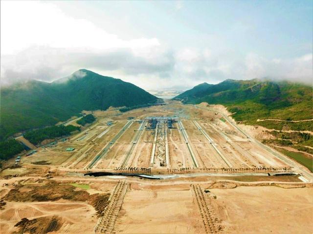 Hình ảnh thực tế dự án Hải Giang Merry Land nhìn từ trên cao