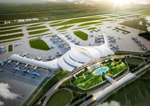 """""""Siêu dự án"""" sân bay Long Thành dự kiến hoàn thiện trước ngày 31/3/2025."""