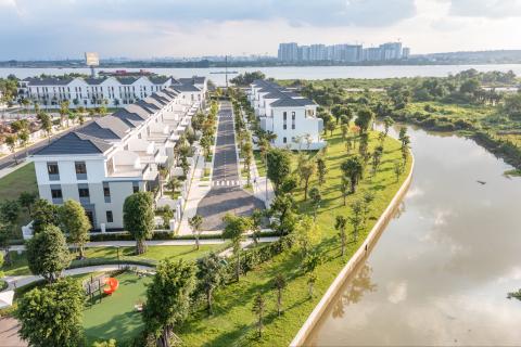 Aqua City chuyển động từng ngày đã tạo niềm tin mạnh mẽ cho nhà đầu tư. Ảnh: Novaland.