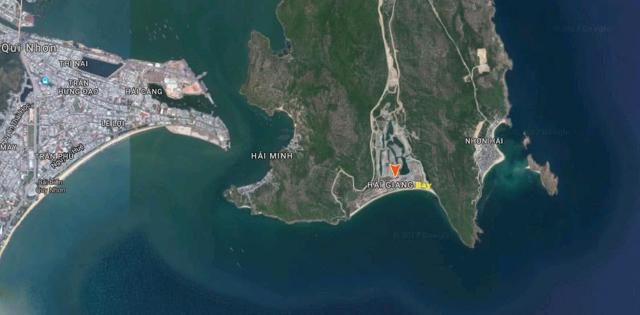 Vị trí dự án Hải Giang Merry Land