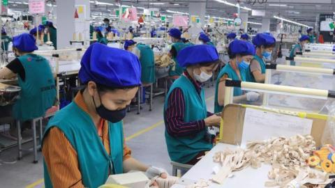 Các KCN ở Bắc Giang, Bắc Ninh đã hoạt động trở lại bình thường. Ảnh minh họa: BQLCKCN Bắc Giang