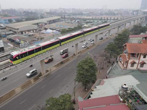Nếu đoạn tuyến 8,7km được Chính phủ chấp thuận đầu tư, tuyến metro số 3 sẽ kéo dài từ Nhổn đến vành đai 3 Hoàng Mai. Ảnh: VietNamNet