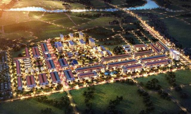 Phối cảnh dự án khu dân cư Phú Lộc.