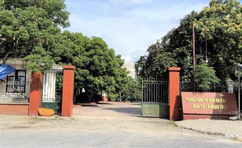 Trụ sở cũ của Trung tâm tư vấn và dịch vụ dân số KHHGĐ tỉnh Nghệ An. Ảnh: VTC News