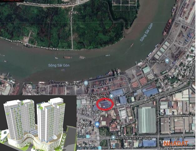 Hơn 10.000m2 đất vàng gần cảng Tân Thuận đã về tay Gotec Việt Nam vào năm 2018.