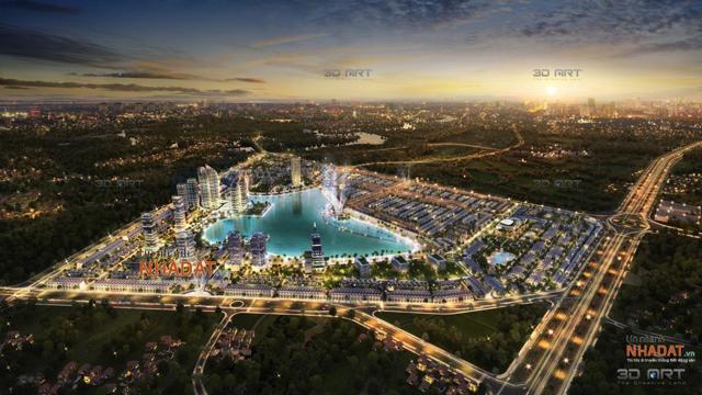 Phối cảnh dự án Khu đô thị mới TMS Land Đầm Cói.
