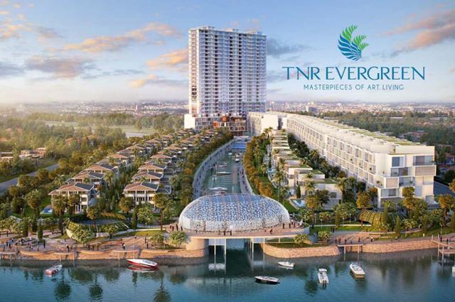 TNR Holdings sẽ là đơn vị phát triển dự án EverGreen của Công ty Tài Nguyên.