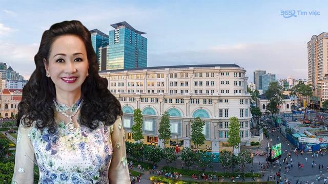Bà Trương Mỹ Lan – chủ tịch HĐQT Tập đoàn Vạn Thịnh Phát.