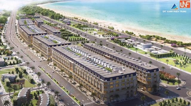 Dự ánKhu đô thị La Maison Premium của Đất Xanh miền Trung chưa đủ điều kiện huy động vốn.