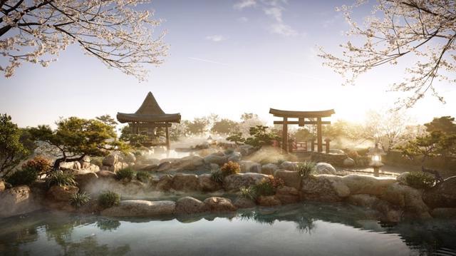 """Cận cảnh tổ hợp Onsen 1.000 tỷ trong Ecopark, phát triển bởi 3 """"ông Lớn"""" Nhật Bản - Ảnh 2"""