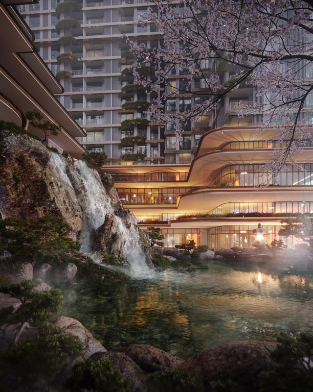 """Cận cảnh tổ hợp Onsen 1.000 tỷ trong Ecopark, phát triển bởi 3 """"ông Lớn"""" Nhật Bản - Ảnh 9"""