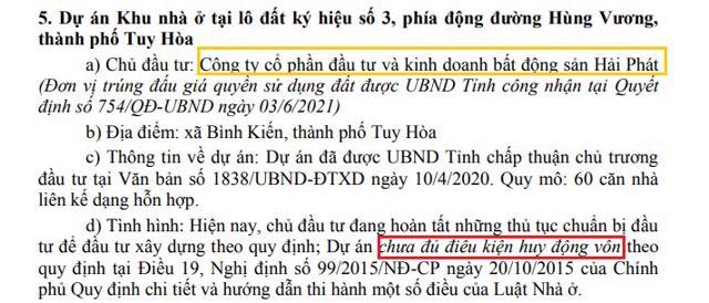 Nguồn: UBND tỉnh Phú Yên.