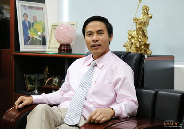 Ông Nguyễn Việt Cường – Chủ tịch Tập đoàn Kosy.