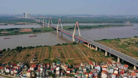 Quy hoạch phân khu đô thị sông Hồng phải bảo vệ hành lang thoát lũ. Ảnh: Zing