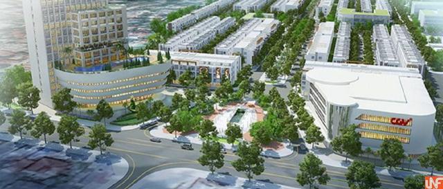 Phối cảnh dự án Khu đô thị Thái Hưng Eco City.