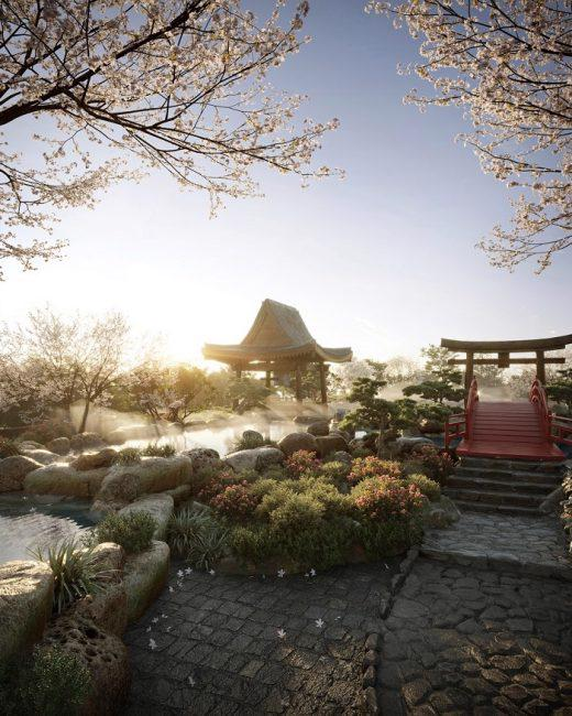 14 hồ khoáng nóng và Spa Swanlake Residences trong Ecopark