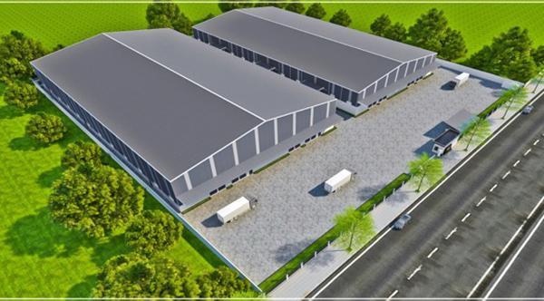 Phối cảnh dự án của Công ty TNHH Phát triển INTEX (Hoa Kỳ) đầu tư vào KCN Hòa Khánh