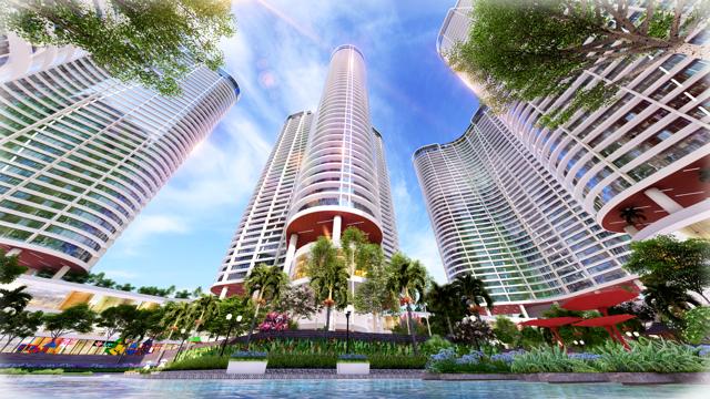 """Sunshine Diamond River - một trong số các dự án tại TP. HCM của Sunshine Group, ghi dấu ấn tại thị trường phương Nam như một """"Resort 4.0 bên sông Sài Gòn""""."""