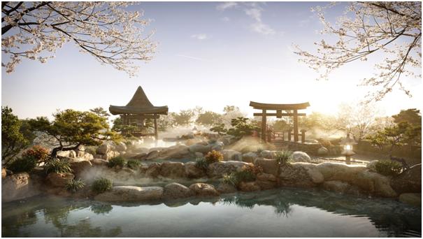 Thiên đường nghỉ dưỡng khoáng nóng Swanlake Residences tại Ecopark