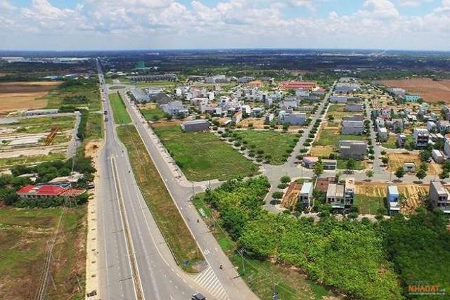 Giá đất tại Bình Chánh đang có dấu hiệu tăng nóng.