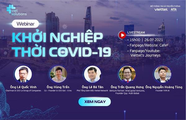 Các chuyên gia bàn cách tìm lối đi cho startup thời COVID-19 - Ảnh 1