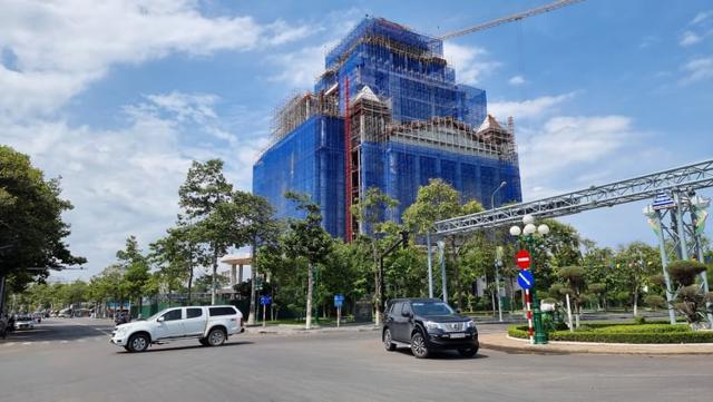 Khu đô thị du lịch biển Phan Thiết hình thành trên đất của sân Golf Phan Thiết trước đây. Ảnh: (L.X.T.)