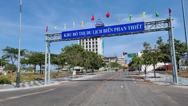 Khu đô thị du lịch biển Phan Thiết của Rạng Đông bị Bộ Công an yêu cầu cung cấp hồ sơ để điều tra. (Ảnh: L.X.T.)
