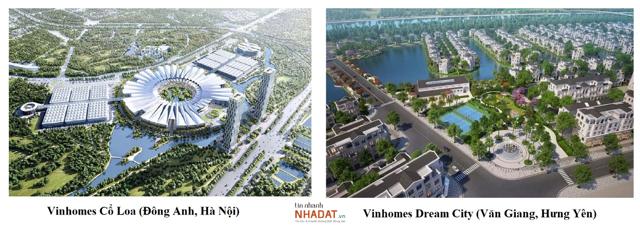 2 dự án đại đô thị sẽ được Vinhomes mở bán trong năm nay