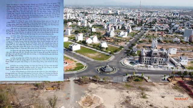 Dự án KĐT Du lịch biển Phan Thiết của Rạng Đông tình dính lùm xùm về việc chuyển đổi mục đích xử dụng đất.