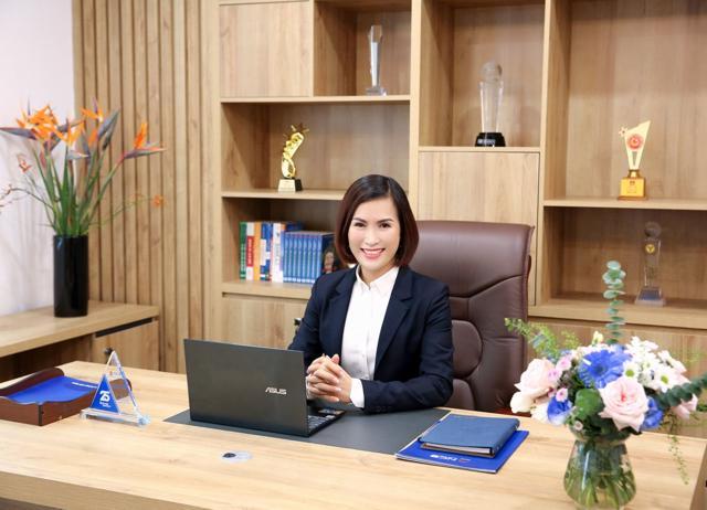 Bà Bùi Thị Thanh Hương -Tân Chủ tịch Hội đồng quản trị Ngân hàng TMCP Quốc dân (NCB)