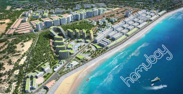 Phối cảnh dự án Hamubay Phan Thiết