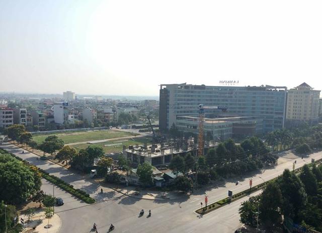 13.483,6m2 đất thương mại dịch vụ tại phường Đông Hương được chuyển thành đất ở trong thời gian ngắn