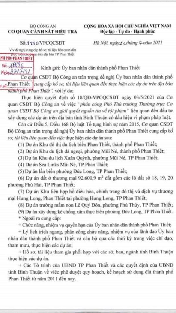 Bộ Công An điều tra 3 dự án 'khủng' của Tập đoàn Rạng Đông có dấu hiệu vi phạm pháp luật - Ảnh 1