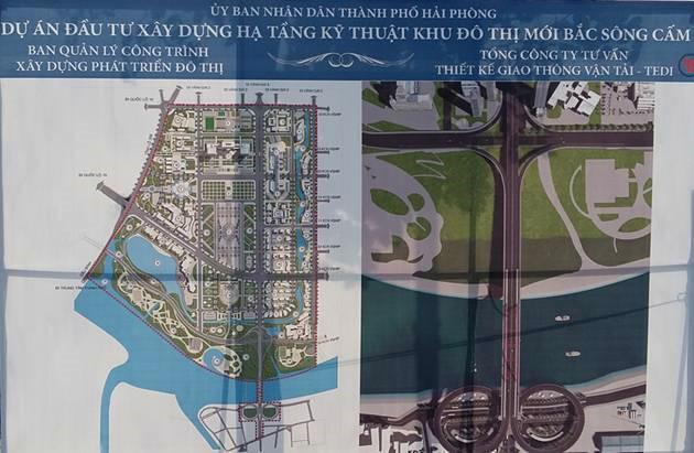 """Cập nhật tiến độ """"siêu dự án"""" KĐT Bắc Sông Cấm gần 10.000 tỷ tại Hải Phòng - Ảnh 1"""