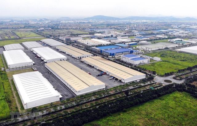 Bất động sản công nghiệp tiếp tục sôi động và là phân khúc sáng nhất so với các loại tài sản khác. (Ảnh sưu tầm)