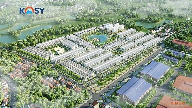 Dự án KĐT Kosy Bắc Giang.