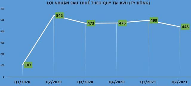 Tập đoàn Bảo Việt (BVH): Kinh doanh lao dốc, sức khỏe tài chính giảm sút - Ảnh 1
