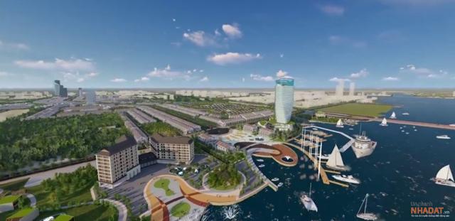 Phối cảnh dự án Riverine Cần Thơ City.