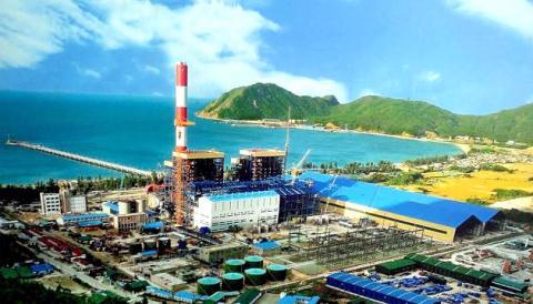 Một góc đại dự án Formosa ở Khu kinh tế Vũng Áng. Ảnh: Nhân dân