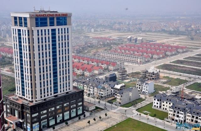 """KĐTM Dương Nội được coi là """"thủ phủ"""" của Nam Cường ở Hà Nội. Sau nhiều năm, KĐT này vẫn còn nhiều diện tích """"bỏ hoang"""". Nếu Dự án Bệnh viện 500 giường tại đây bị thu hồi, Nam Cường sẽ đánh mất lợi thế cạnh tranh lớn."""