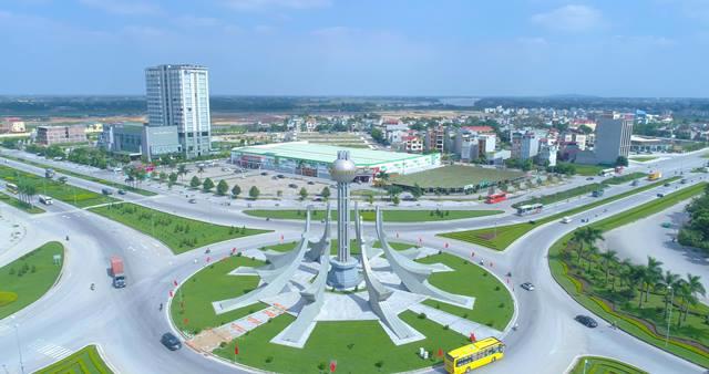 Thành phố Thanh Hóa nhìn từ trên cao (Ảnh minh họa)
