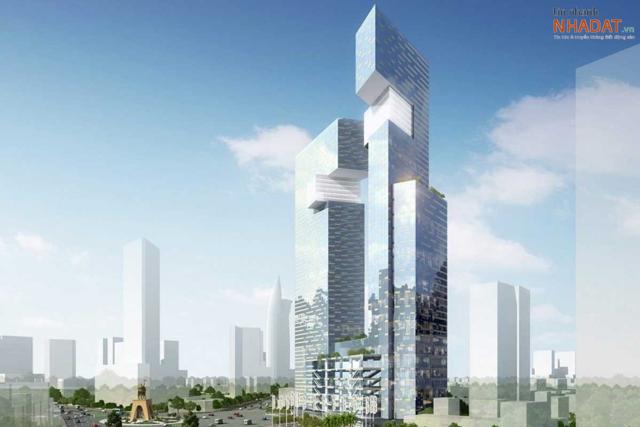 Phối cảnh One Central Saigon – một dự án có giá bán cao kỷ lục (dự kiến 650 – 800 triệu đồng/m2).