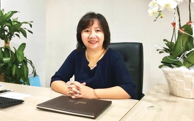 Bà Nguyễn Hương – TGĐ công ty BĐS Đại Phúc Land.