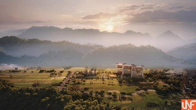 Phối cảnh tổng thể dự án Apec Mandala Kim Bôi Hòa Bình