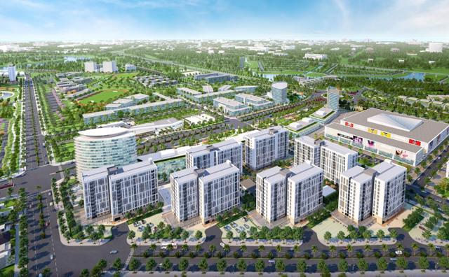 Dự án EHome Southgate, khu căn hộ nằm tại cửa ngõ dẫn vào khu đô thị Waterpoint 355 ha tại Bến Lức, Long An chỉ có mức giá dưới 1 tỷ đồng/căn